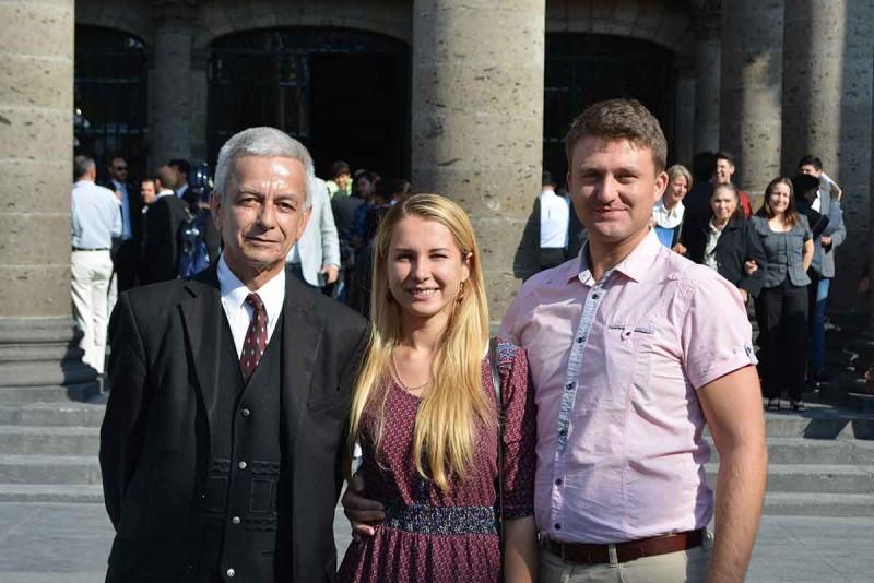 Три українці в містечку Tapalpa