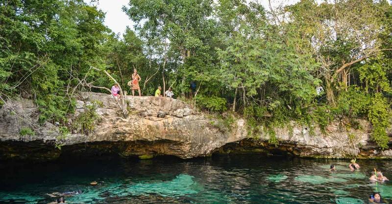 Півострів Юкатан, у пошуках Майя – Cеноти Eden, Cristalino, Azul (частина 4)