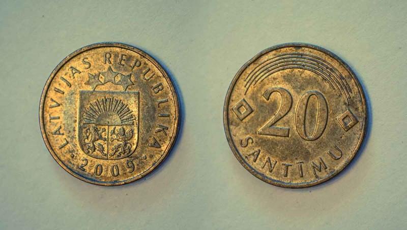 Latvia coins