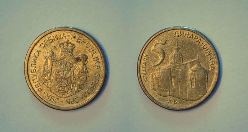 Serbia coins